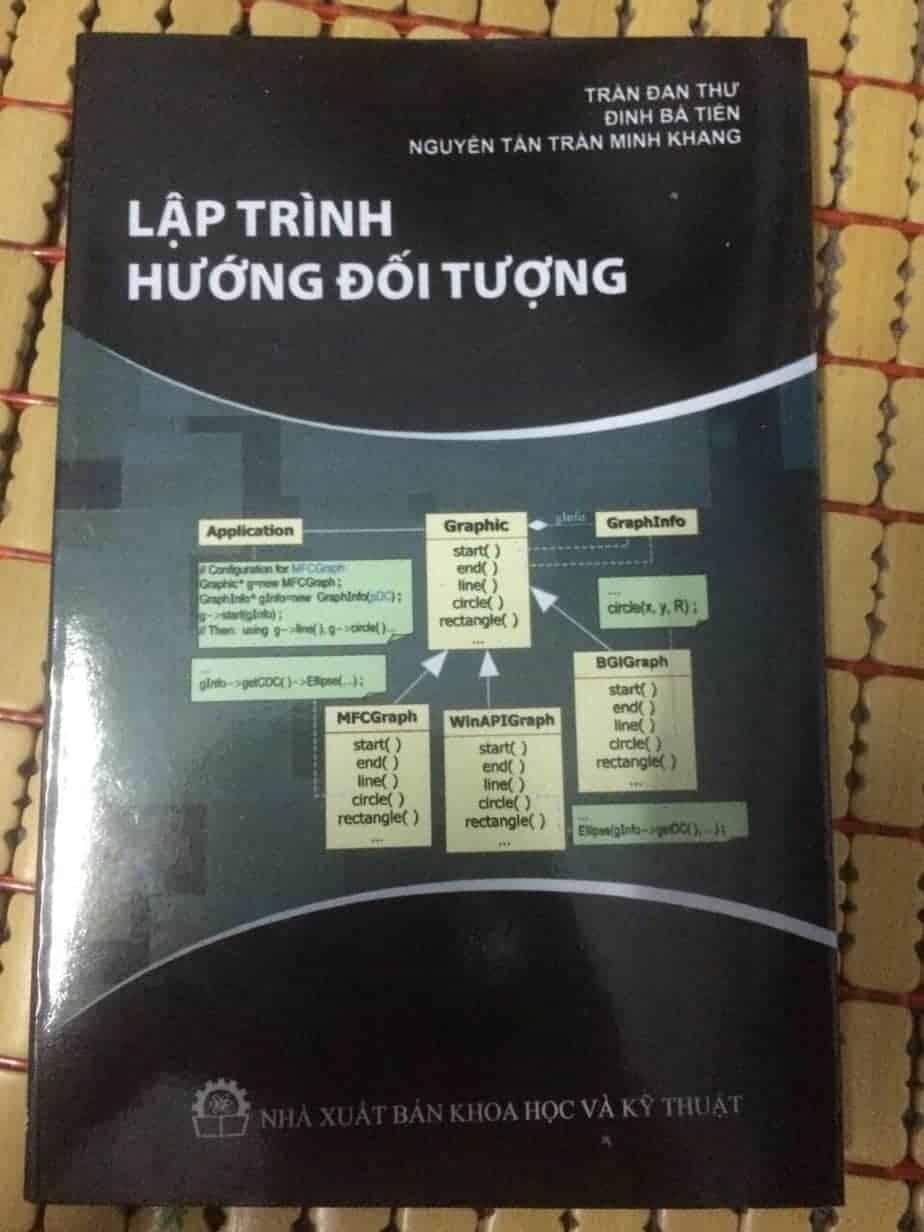 Sách lập trình hướng đối tượng – KHTN – congdongshop.com
