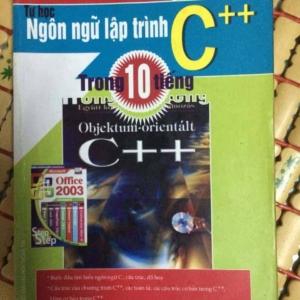 sách tự học ngôn ngữ lập trình c++