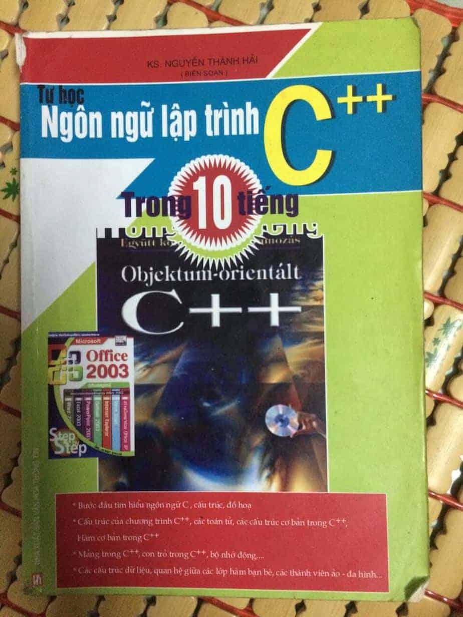 Sách tự học ngôn ngữ lập trình C++  trong 10 tiếng – congdongshop.com