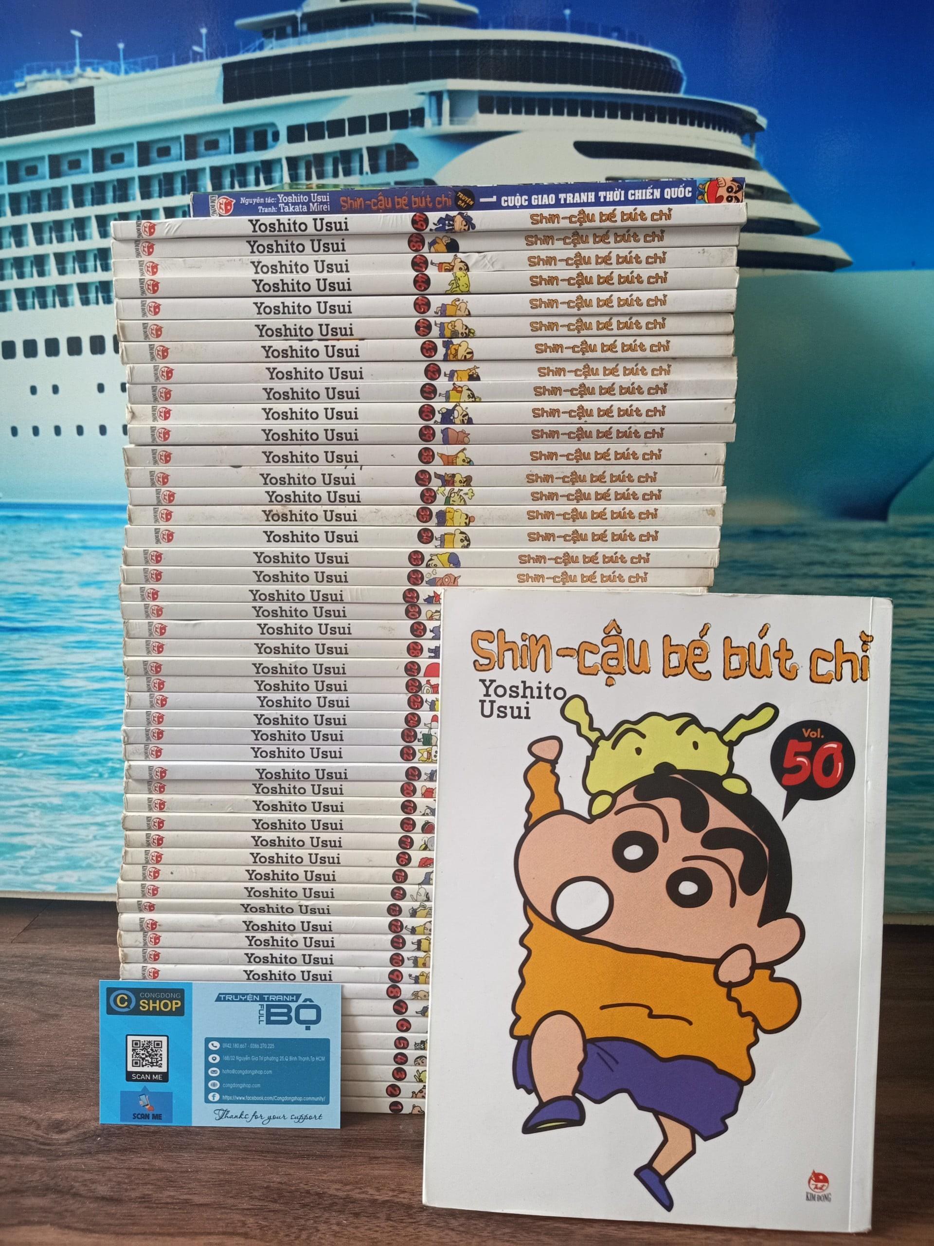 Truyện Shin-Cậu bé bút chì Full bộ giá rẻ