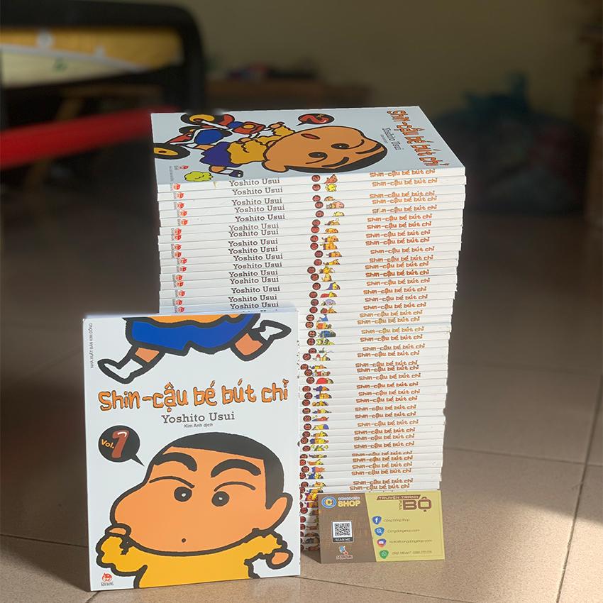 Truyện Shin Cậu bé bút chì Full bộ giá rẻ