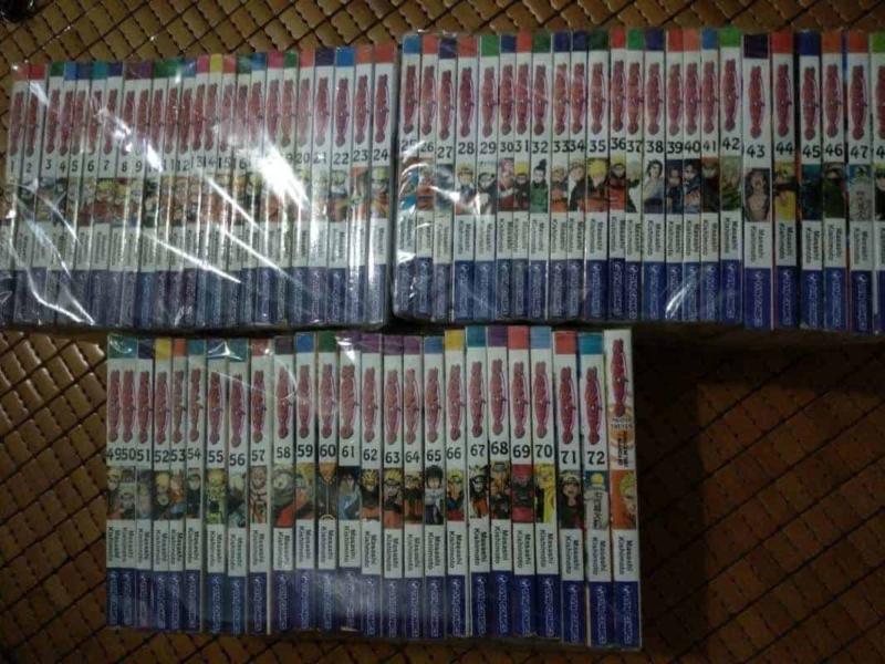 Truyện Naruto TVM Comics Full bộ giá rẻ