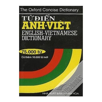 Từ Điển Anh - Việt 75000 Từ