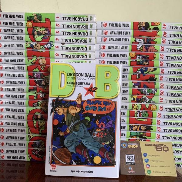 Truyện Dragon Ball 42 Tập Full bộ giá rẻ
