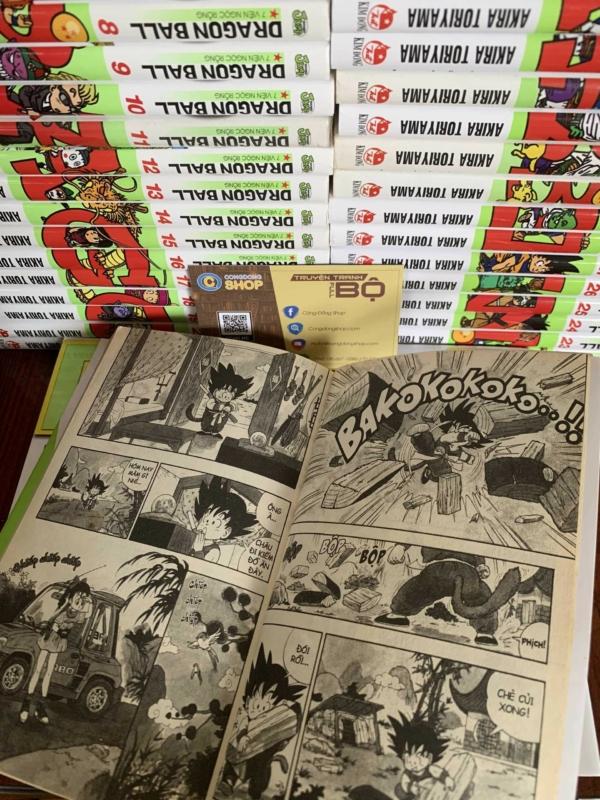 Truyện Dragon Ball 42 Tập Full bộ giá rẻTruyện Dragon Ball 42 Tập Full bộ giá rẻ
