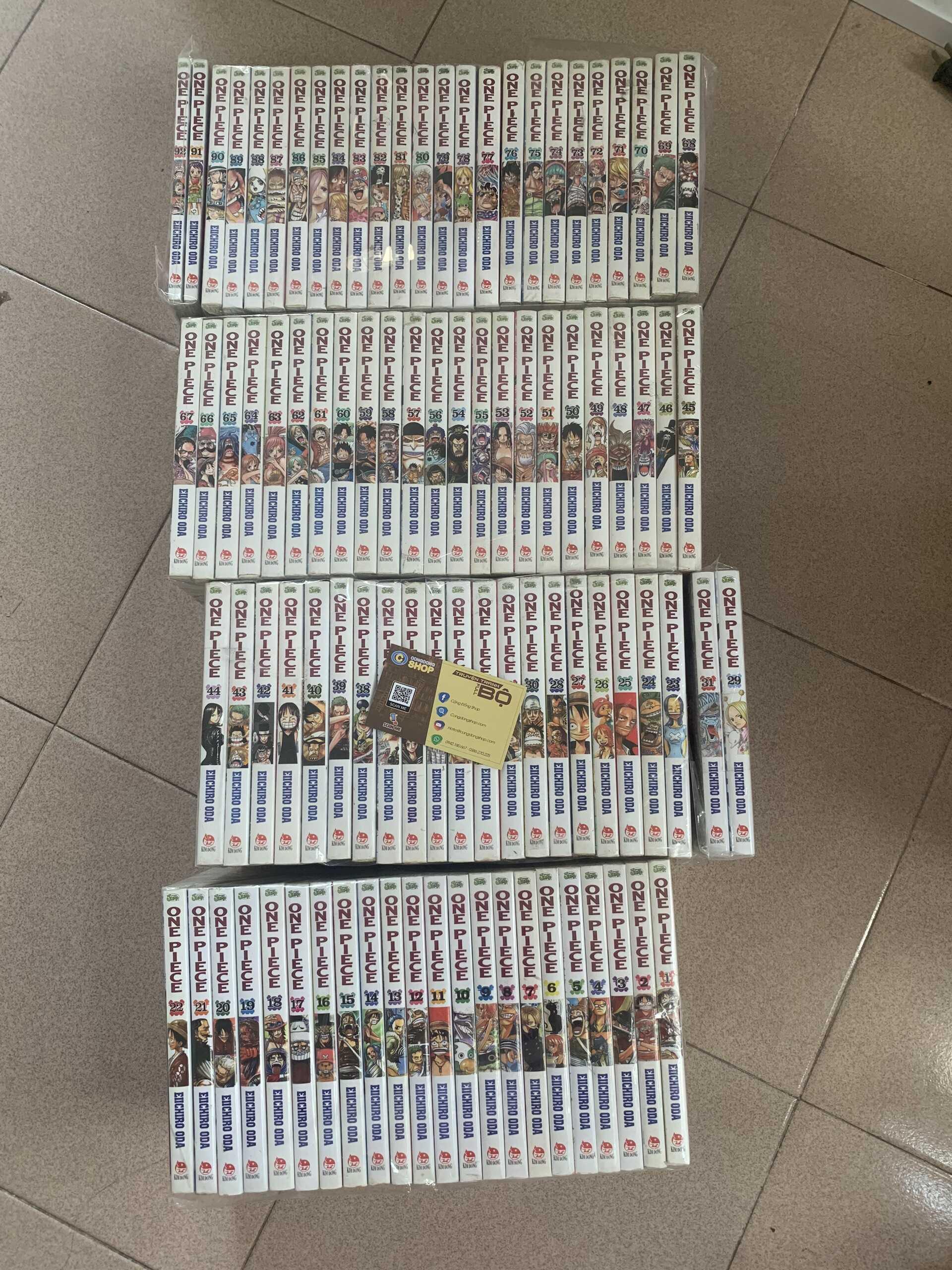Truyện One Piece Đảo Hải Tặc Full bộ giá rẻ