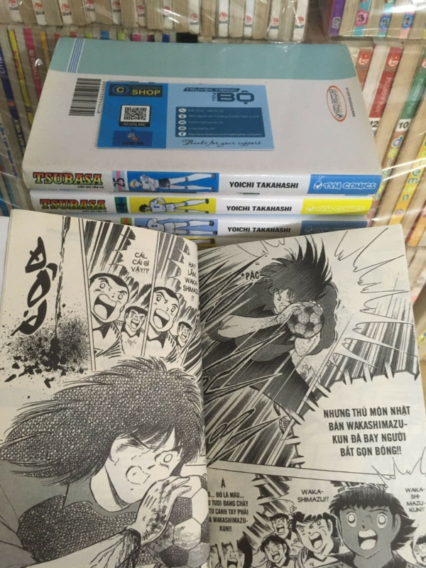 Truyện Tsubasa-Giấc mơ sân cỏ full bộ giá rẻ