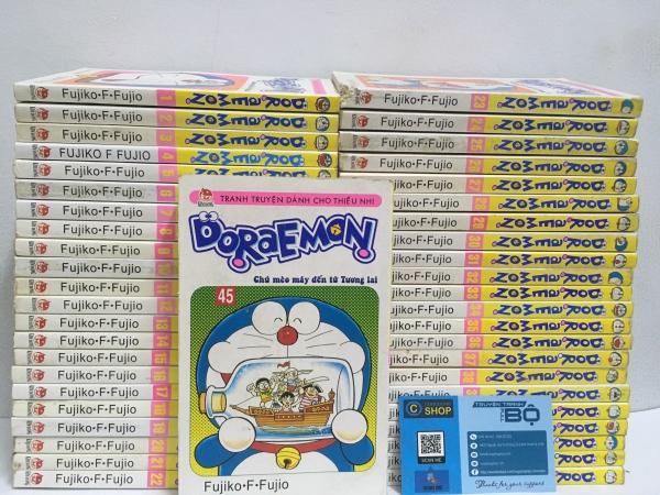 Truyện Doraemon tập ngắn full bộ giá rẻ