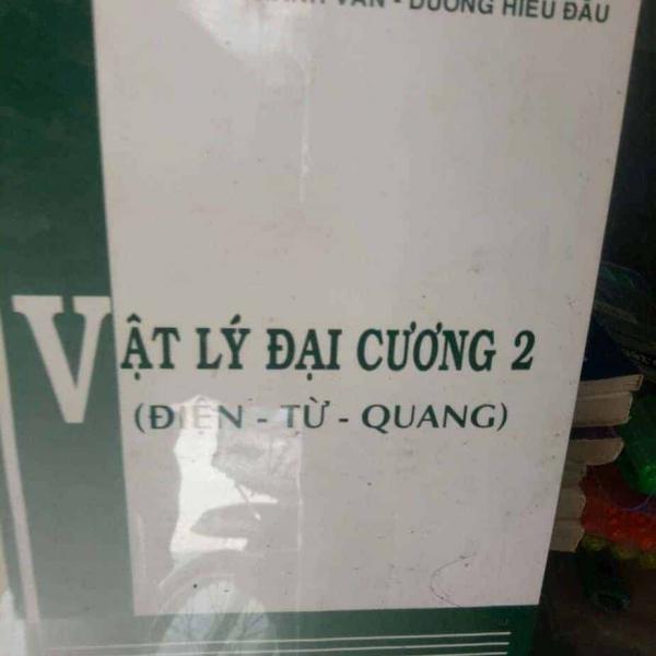 Sách Vật lý đại cương 2 (Điện-Từ-Quang)