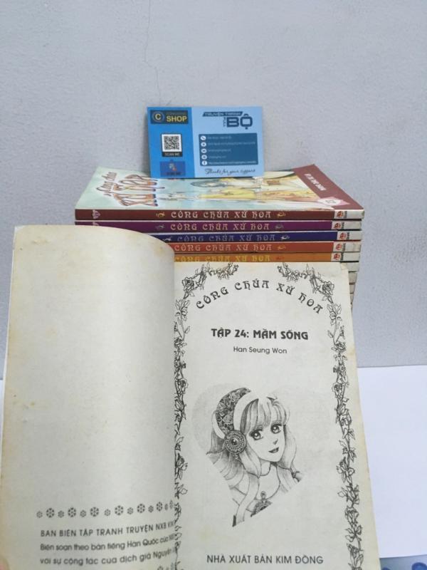 Truyện Công chúa xứ hoa full bộ giá rẻ