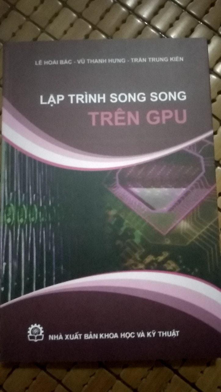 Sách lập trình song song trên GPU – Trường đại học khoa học tự nhiên