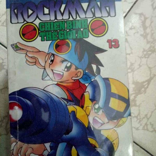Truyện Rockman-Chiến binh thế giới ảo full bộ