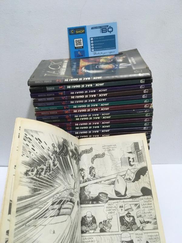 Truyện Black Jack - bác sĩ quái dị bộ 32 tập