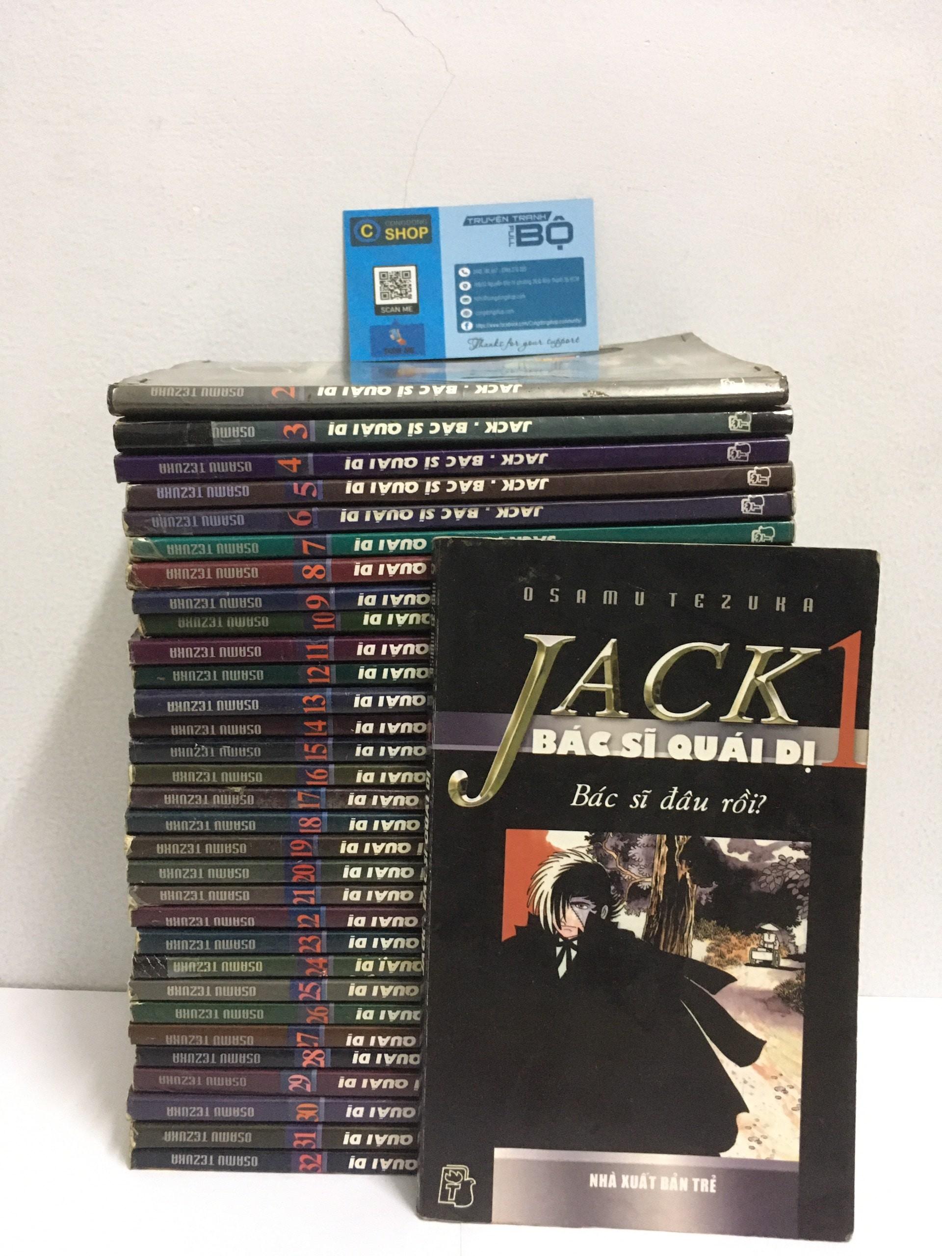 Truyện Black Jack – bác sĩ quái dị bộ 32 tập
