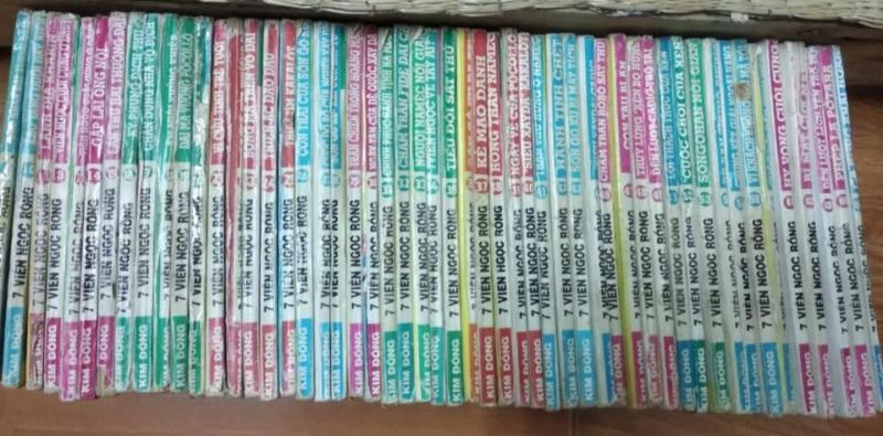 Truyện 7 viên ngọc rồng 1996 full bộ giá rẻ