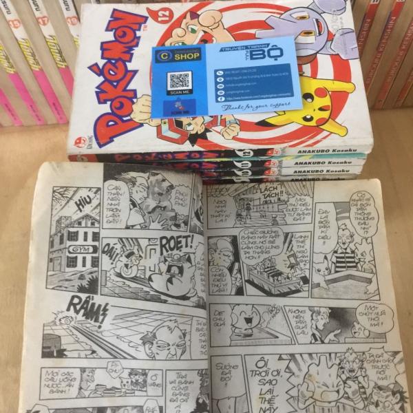 Truyện Tranh Pokemon Pippi 13 Tập Full Bộ