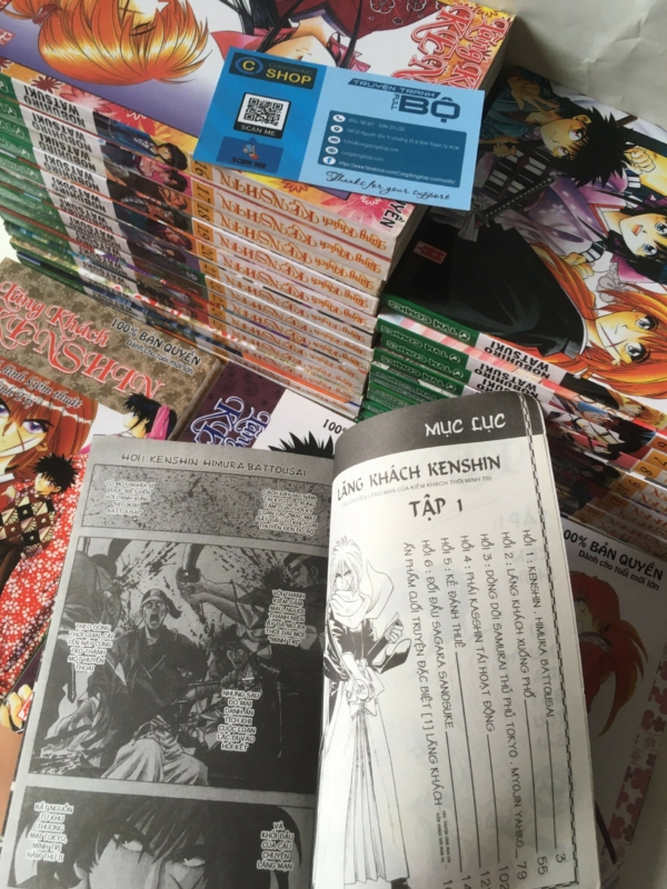 Truyện Lãng Khách Kenshin