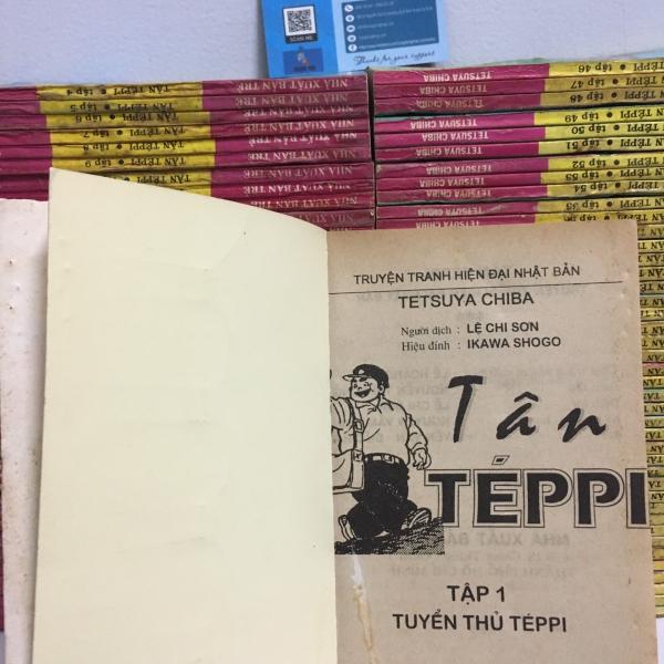 Truyện Tân Teppi full bộ giá rẻ
