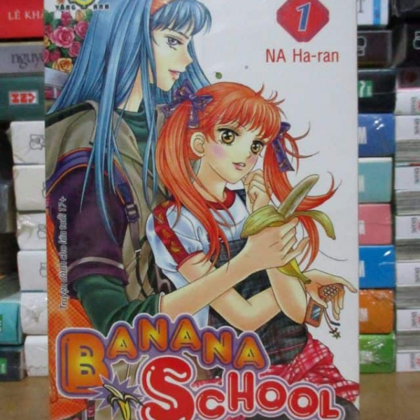 Truyện Banana school full bộ giá rẻ