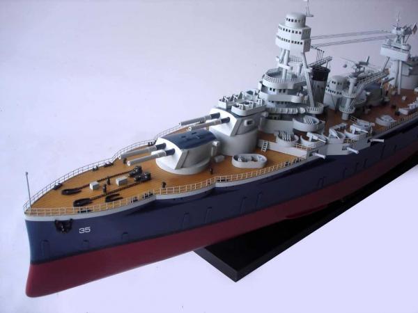 MÔ HÌNH THUYỀN CHIẾN USS_TEXAS