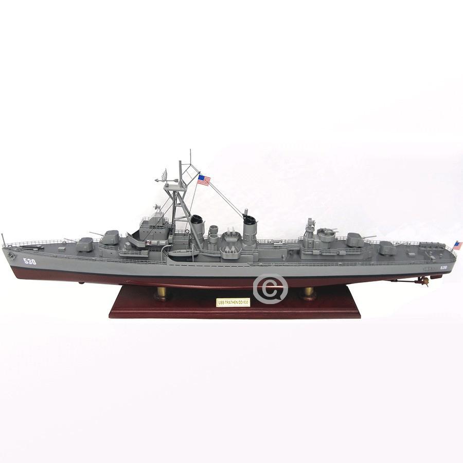 Mô hình thuyền chiến USS Trathen DD-530