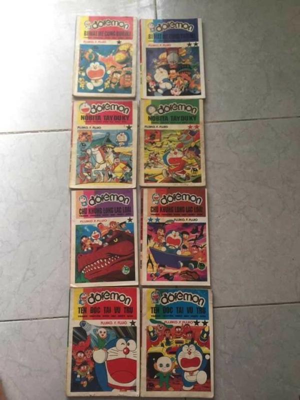 Truyện Doremon năm 1992 full 100 cuốnTruyện Doremon năm 1992 full 100 cuốn