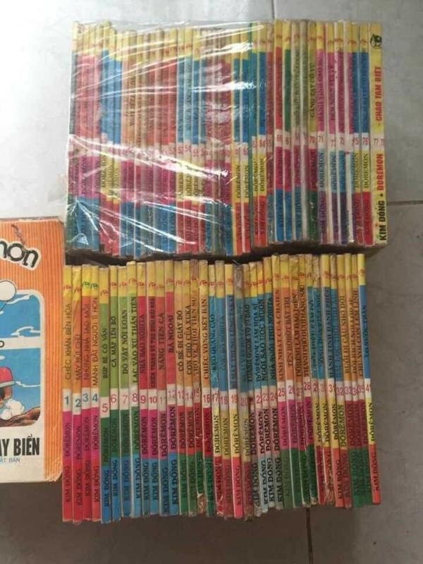 Truyện Doremon năm 1992 full 100 cuốn