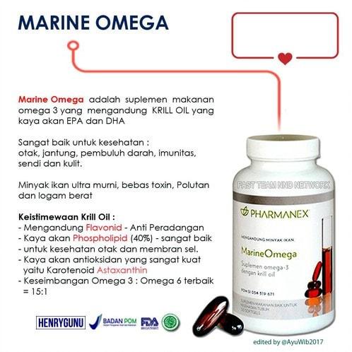 Thực phẩm bảo vệ sức khỏe Marine Omega