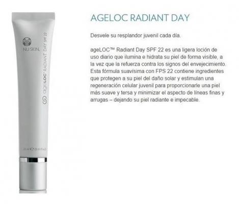 Kem chống nắng và dưỡng da ban ngày AGELOC® NUSKIN