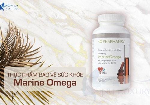 Thực phẩm bảo vệ sức khỏe Marine Omega Nuskin