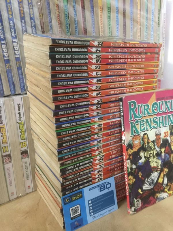Truyện Lãng Khách Rurouni Kenshin 33 Tập Full bộ