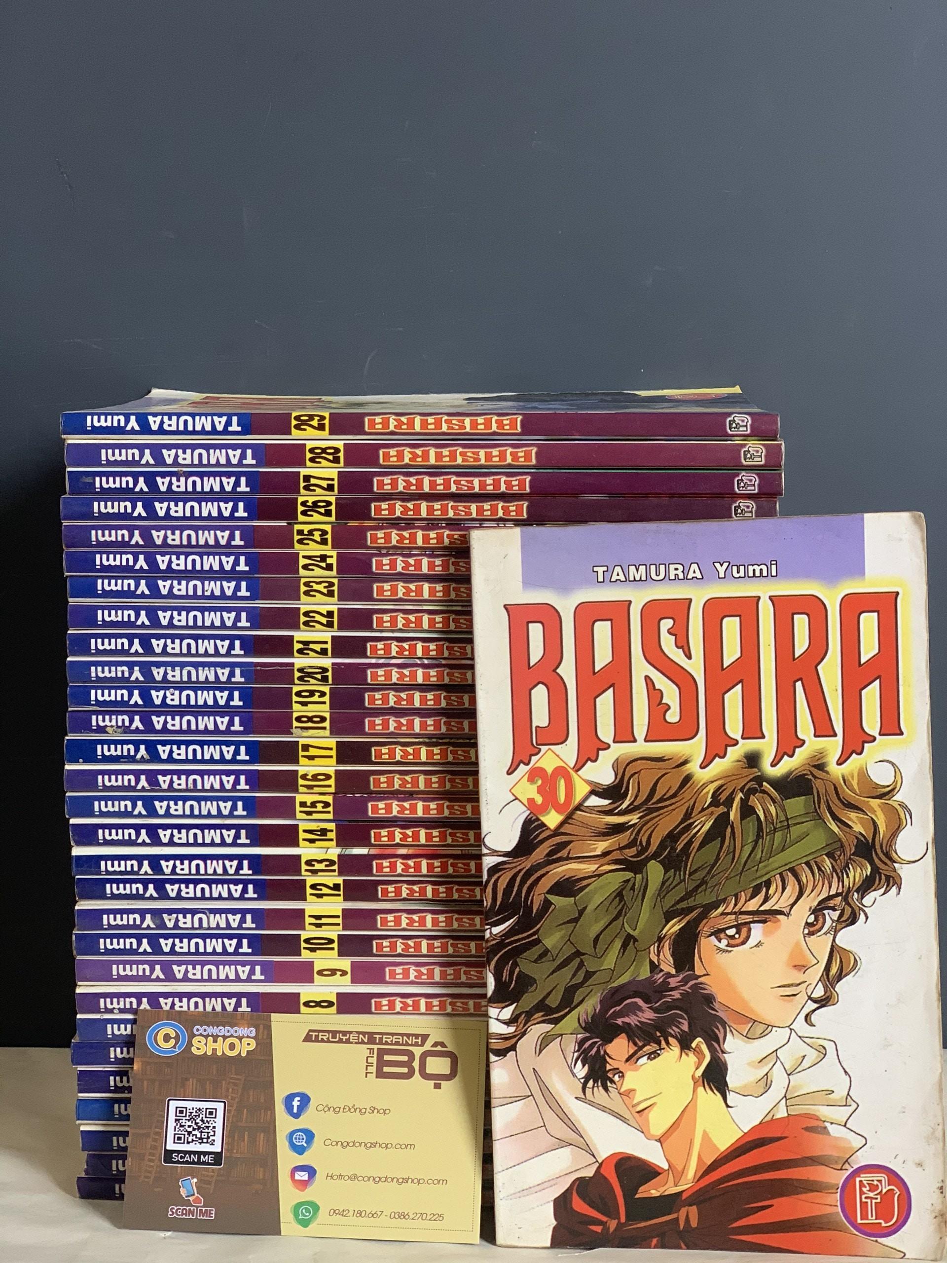 Truyện Basara Đời đầu Full bộ giá rẻ