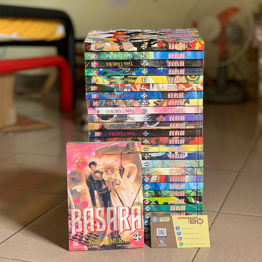 Truyện Basara tái bản trọn bộ giá rẻ