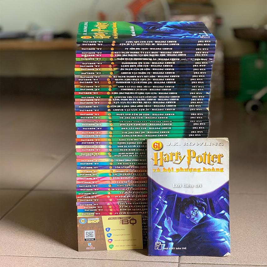 Truyện Harry Potter Trọn bộ 61 tập giá rẻ