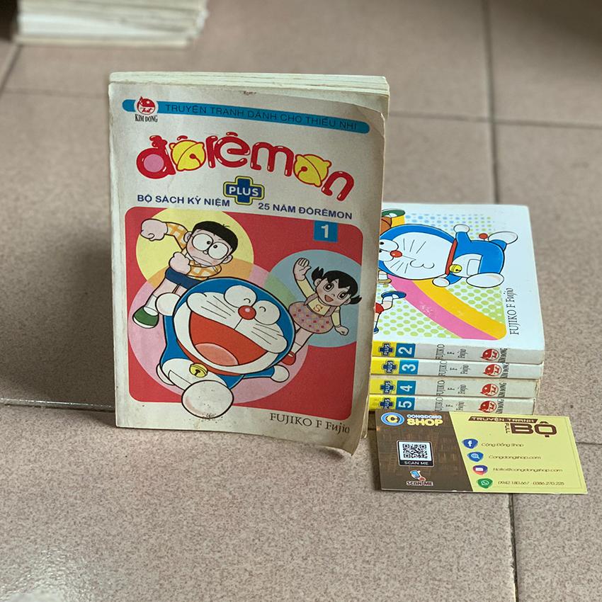 Truyện Doremon Plus trọn bộ 5 tập giá rẻ