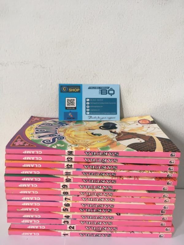Truyện Sakura Thủ lĩnh thẻ bài Full bộ giá rẻ