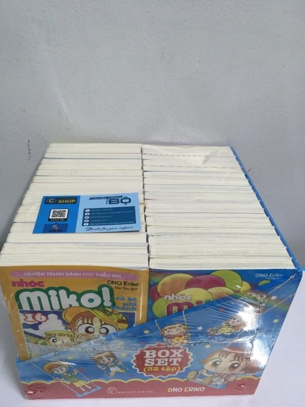 Boxset Nhóc Miko! Cô Bé Nhí Nhảnh Trọn Bộ 32 Tập