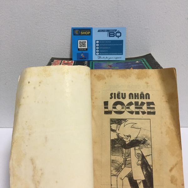 Truyện Siêu nhân Locke Full bộ giá rẻ