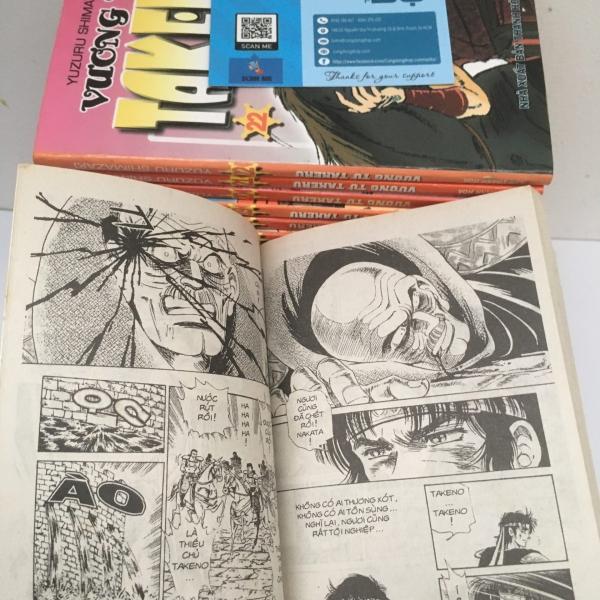 Truyện Vương Tử Takeru Full 23 Tập Giá rẻ