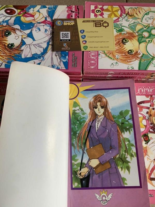 Truyện Sakura Thủ lĩnh thẻ bài Tái bản Đủ bộ