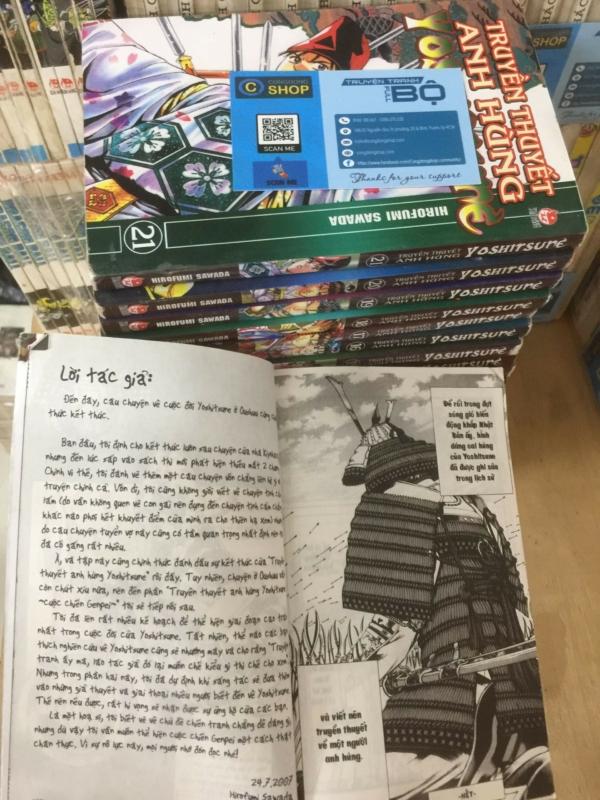Truyện Truyền thuyết anh hùng Yoshitsune Full bộ