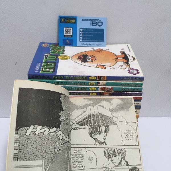 Truyện Công tử nghèo Full bộ giá rẻ