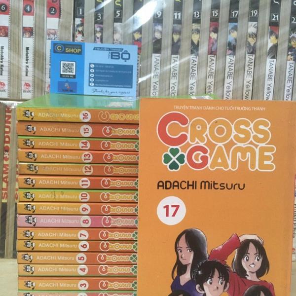 Truyện Cross Game Full bộ giá rẻ