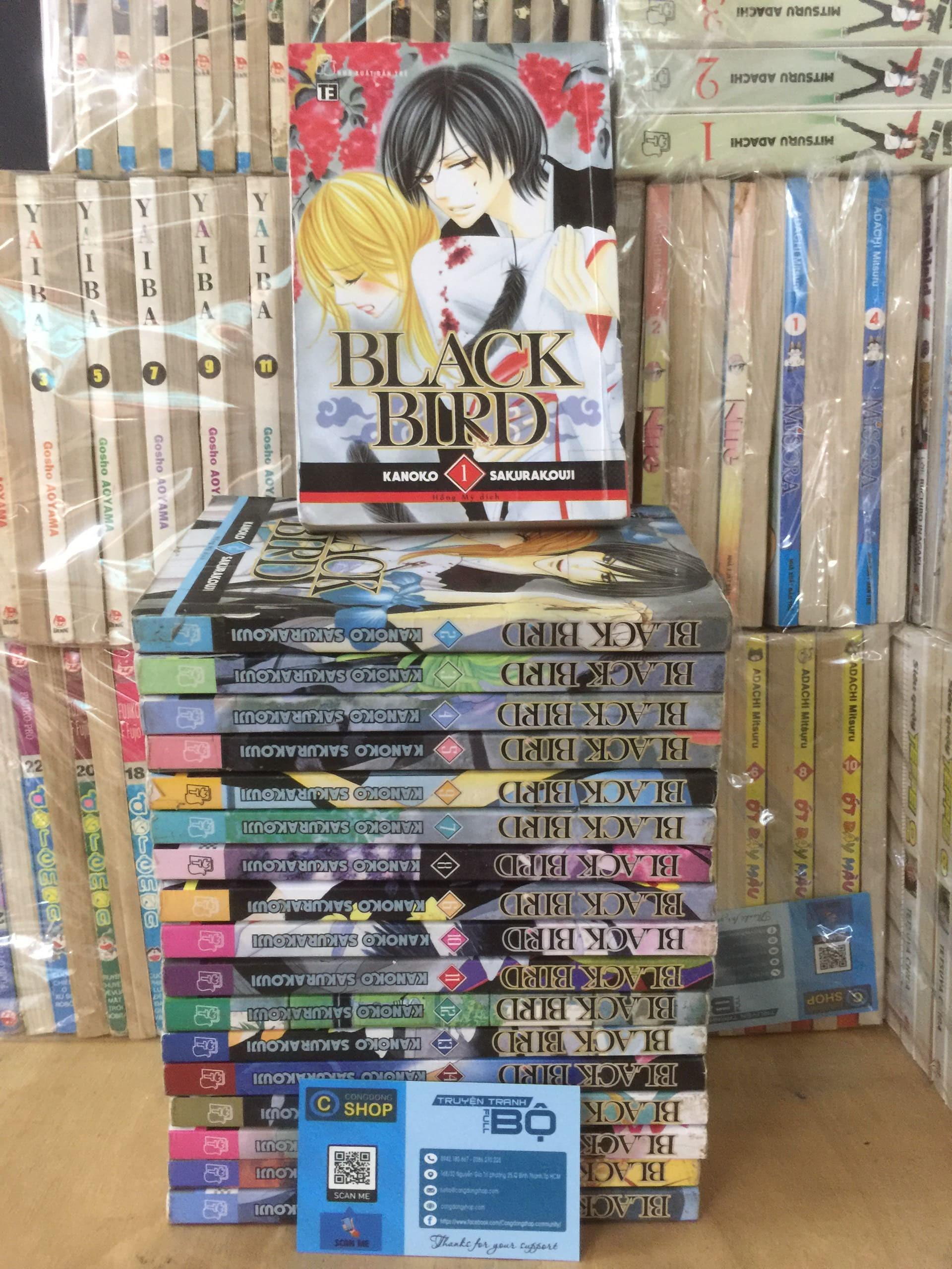 Truyện Tranh Black Bird 18 Tập Full bộ giá rẻ