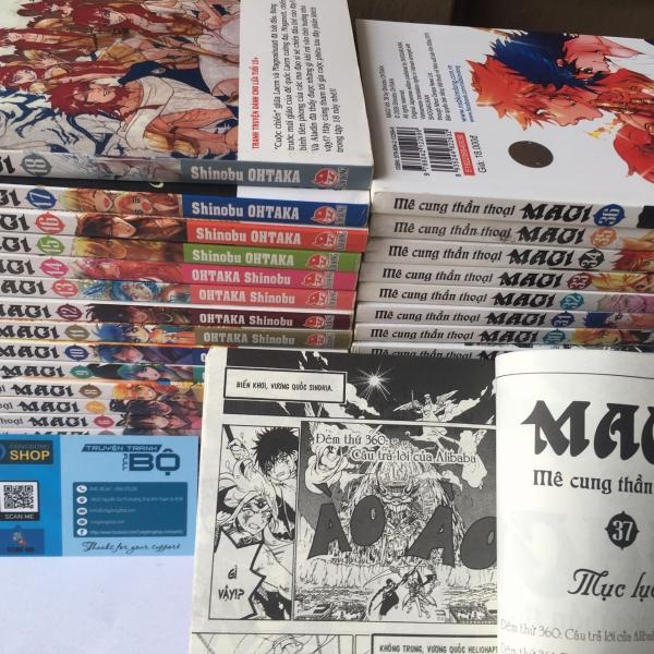 Truyện Magi-Mê cung thần thoại Full bộ giá rẻ