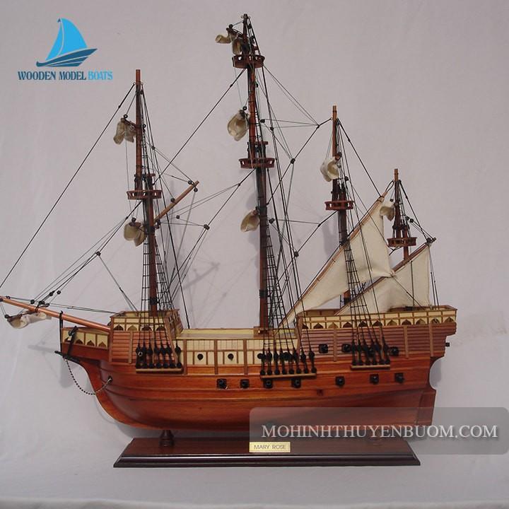 Thuyền Gỗ MARY ROSE