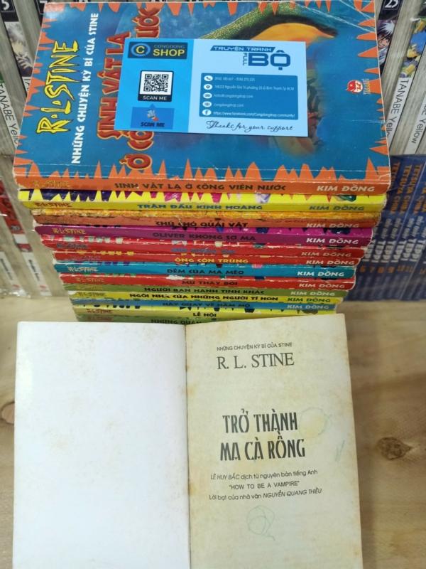 Truyện chữ Những chuyện kỳ bí của Stine giá rẻ