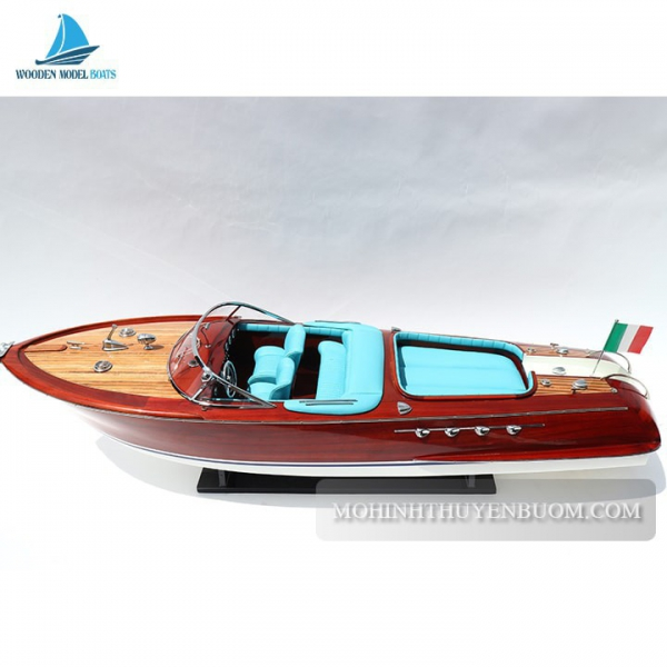 Super Riva Aquarama Blue 1 Min