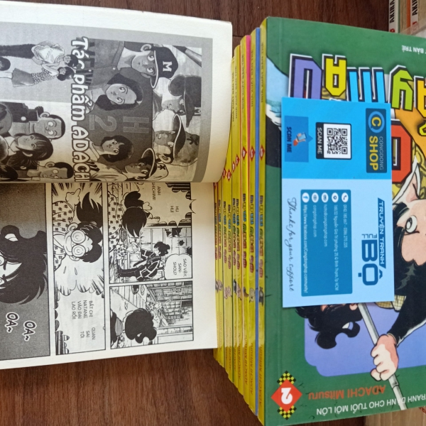 Truyện tranh Ớt bảy màu - Adachi Mitsuru