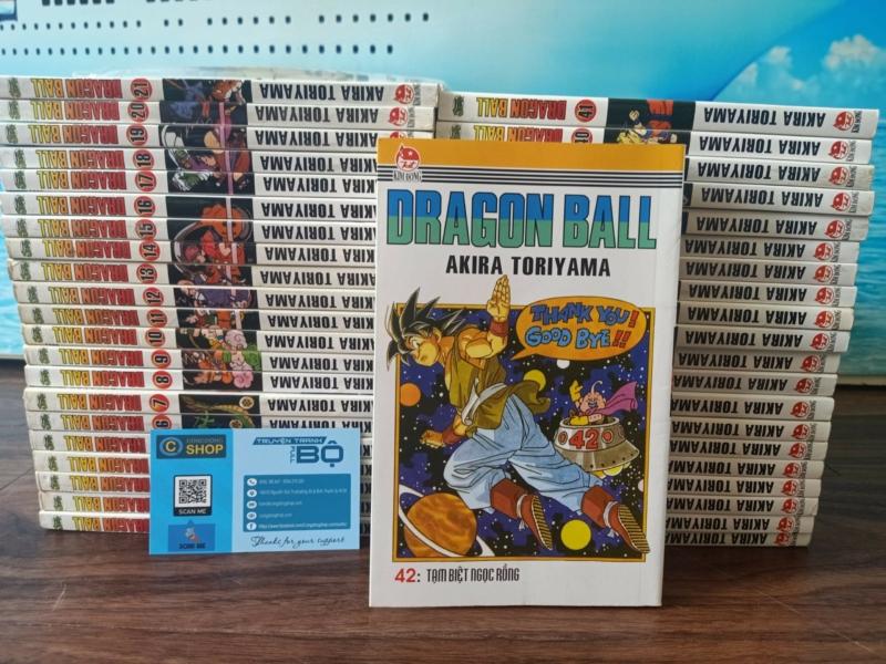 Trọn Bộ Dragon Ball 42 Tập (Bìa Gập)-Akira Toriyama